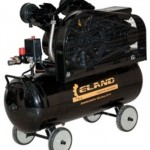 Компрессор 2-х поршневой, ременной ELAND WIND 70-2CB, 2,2 кВт, 70 л, 365 л-мин, 8 Атм, 65 кг